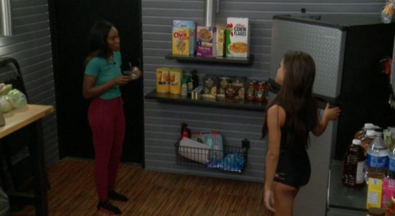 Big Brother 19 Dominique Cooper and Jessica Graf