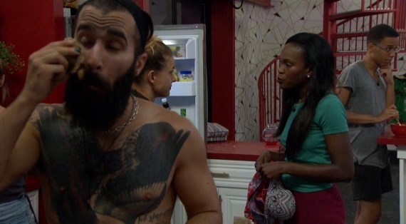 Big Brother 19 Paul Abrahamian, Christmas Abbott, Dominique Cooper