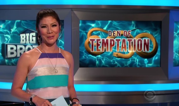 Big brother 19 Den of Temptation Julie Chen