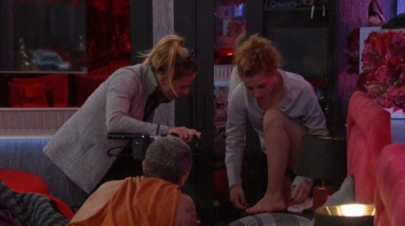 Big Brother 19 Raven Walton, Christmas Abbott, and Matt Clines