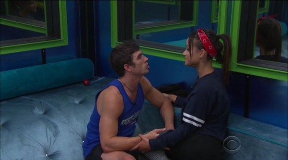 Big Brother 19 Jessica Graf and Cody Nickson