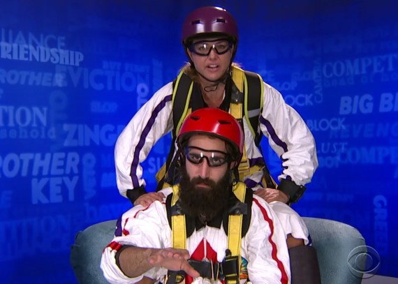 Big Brother 19 Tandem Skydive