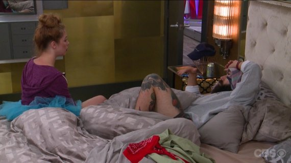 Big brother 19 Raven Walton and Paul Abrahamian