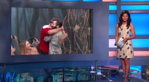 Big Brother 19 Josh Martinez, Julie Chen, Paul Abrahamian, and Christmas Abbott