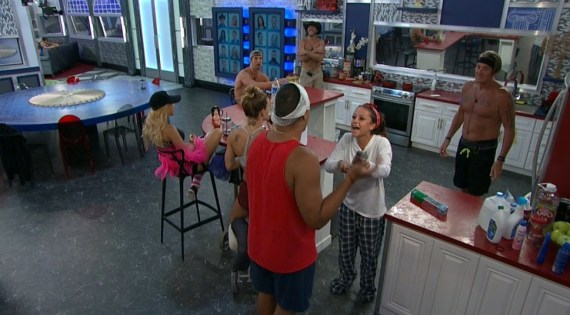 Big Brother 19 Josh Martinez and Jessica Graf Argue