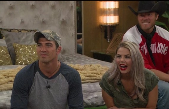 Big Brother 19 Cody Nickson, Elena Davies, and Jason dent
