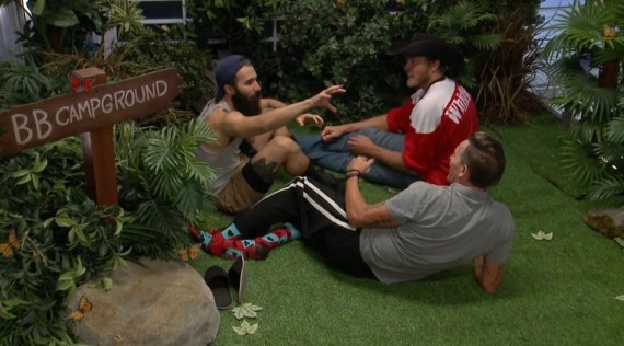Big Brother 19 Jason Dent, PAul Abrahamian, and Kevin Schlehuber