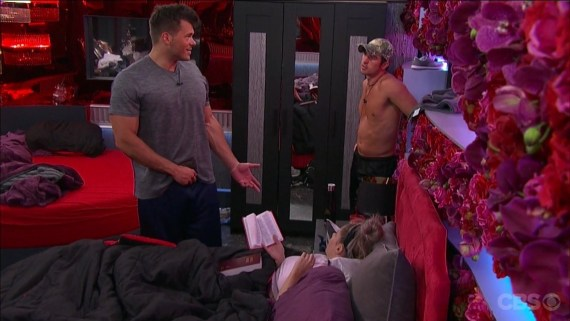 Big Brother 19 Elena Davies, Mark Jansen, and Cody Nickson