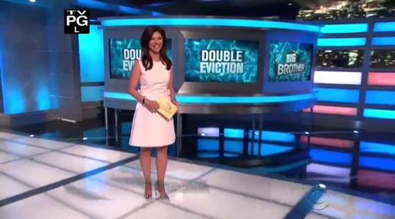 Big Brother 19 Julie Chen Double Eviction