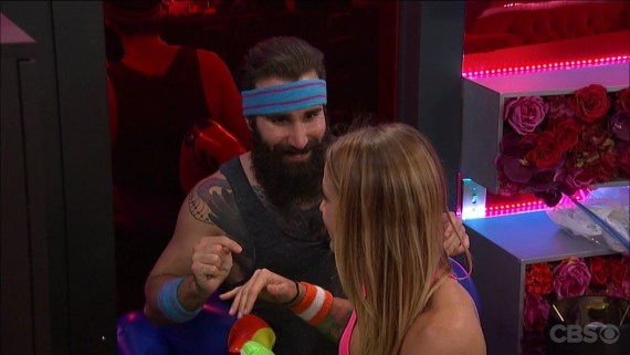 Big Brother 19 Paul Abrahamiann and Christmas Abbott