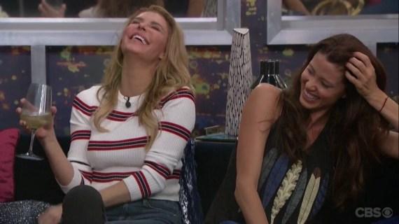 Celebrity Big Brother Brandi Glanville and Shannon Glanville