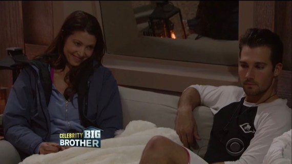 Celebrity Big Brother Shannon Elizabeth and James Maslow