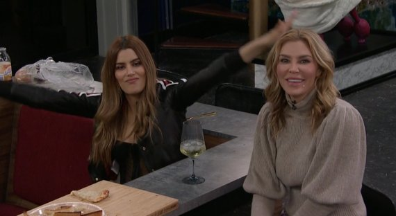 Celebrity Big Brother Ariadna Gutierrez and Brandi Glanville