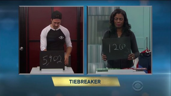 Celebrity Big Brother Omarosa Wins HOH