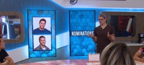 Big Brother 20-Winston and Brett on Block