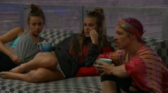 Big brother 20-haleigh Broucher, Rockstar Lantry, Kaitlyn Herman
