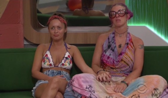 """Big Brother 20-Angie """"Rockstar"""" Lantry and Kaitlyn Herman"""