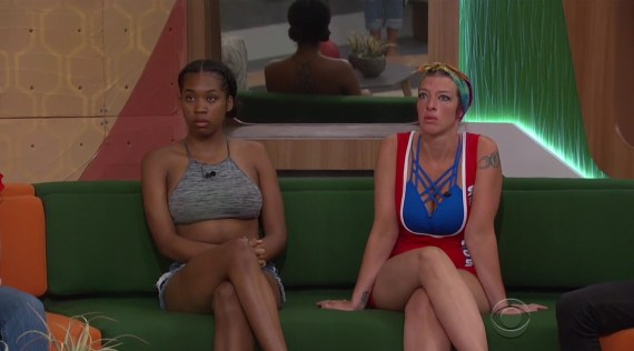 Big Brother 20 Angie Rockstar Lantry and Bayleigh Dayton