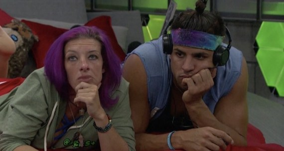 Big Brother 20 Faysal Shafaat and Angie Rockstar Lantry