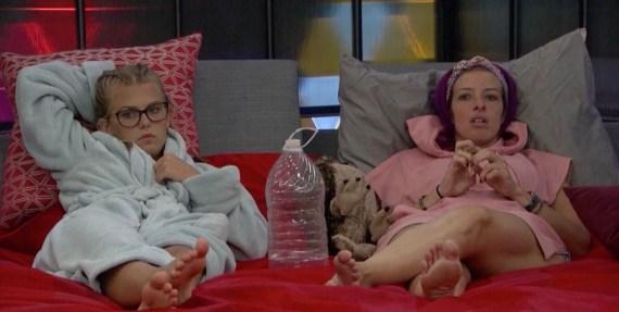 "Big Brother 20 Angiie ""Rockstar"" Lantry and Haleigh Broucher"