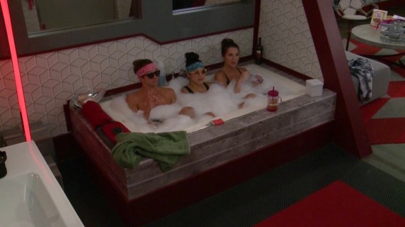 Big Brother 20 Kaycee Clark, Tyler Crispen, Angela Rummans
