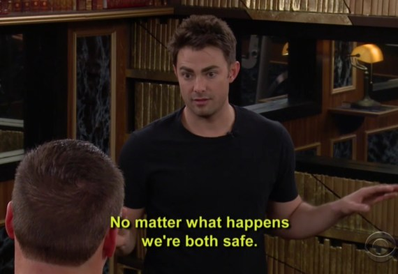Ryan Lochte and Jonathan Bennett CBB2