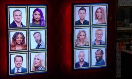 Celebrity Big Brother 2 Memory Wall