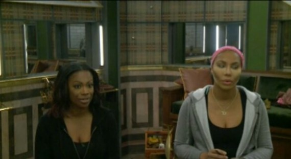 Celebrity Big Brother 2-Tamar Braxton and Kandi Burruss