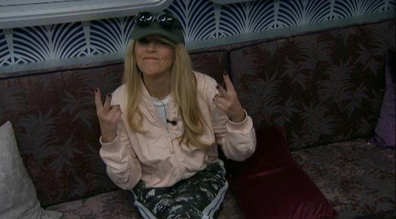 Celebrity Big Brother Dina Lohan