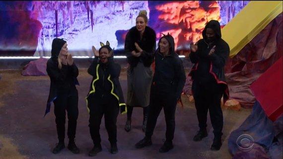 Celebrity Big Brother 2 Final Five