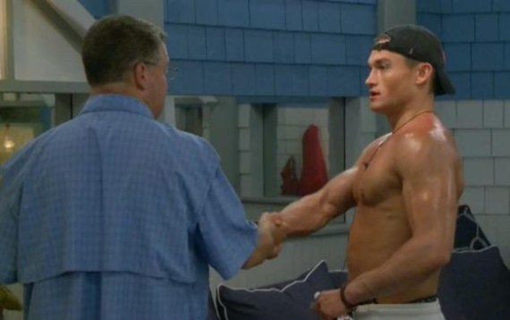 Big Brother 21 Jackson Michie and Cliff Hogg III