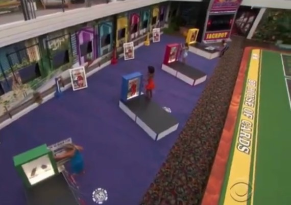 The first four female houseguests compete against one another.