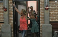 Big Brother 13 Houseguests enter the house