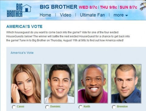 Big Brother 13 America's Vote featuring Brendon