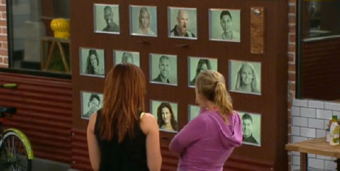 Big Brother 13 Final 3 memory wall