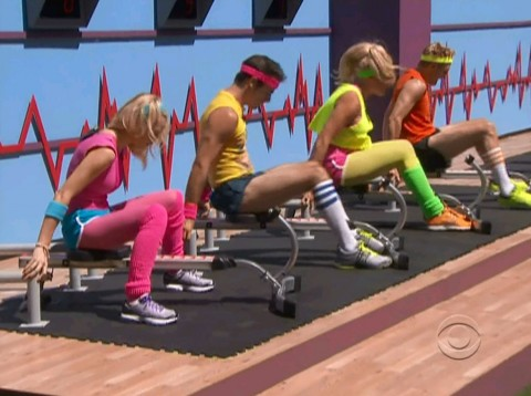 BB14 Episode 8  coaches competition
