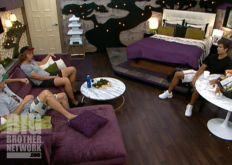 Boogie, Frank, and Shane on Big Brother 14