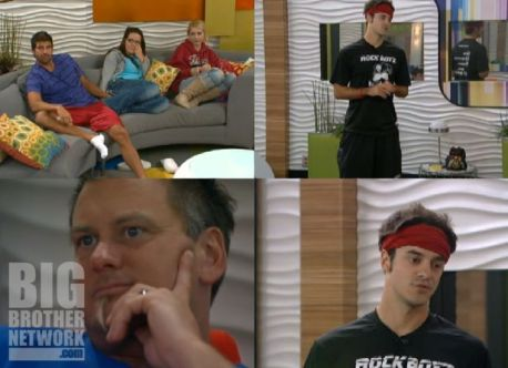 Dan gives a speech on Big Brother 14