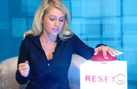 Big Brother 14 - Britney hits reset
