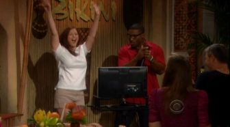 Rachel celebrates on B&B