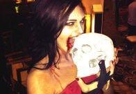 Zombie Kaitlin likes braaaainnns