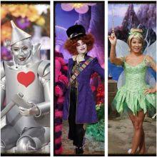 Julie Chen's Halloween costumes