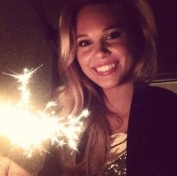 Aaryn Gries celebrates New Year's Eve