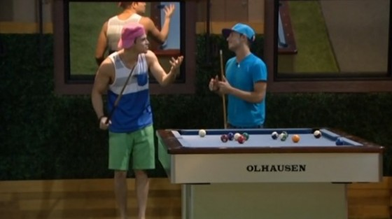 Zach Rance and Frankie Grande on Big Brother 16
