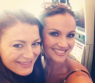 Rachel Reilly with Brittany