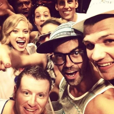 Big Brother Houseguests together in Vegas