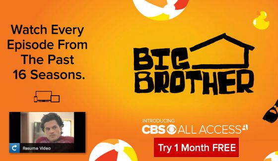 CBS Offering  Black Friday  Deal With Return Of 1-Month Free All ... 54a33ebb4