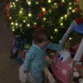 Derrick Levasseur's daughter Tenley on Christmas - 02