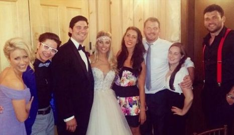 Big Brother Houseguests at wedding - Source: @GinaMarieZ
