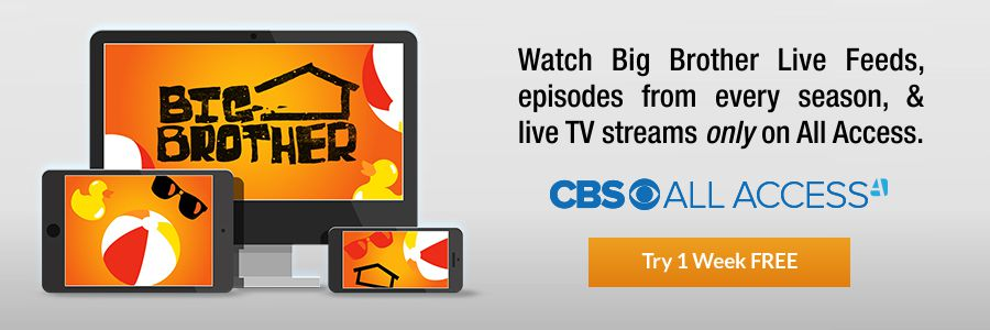 Big Brother Live Feeds on CBS All Access